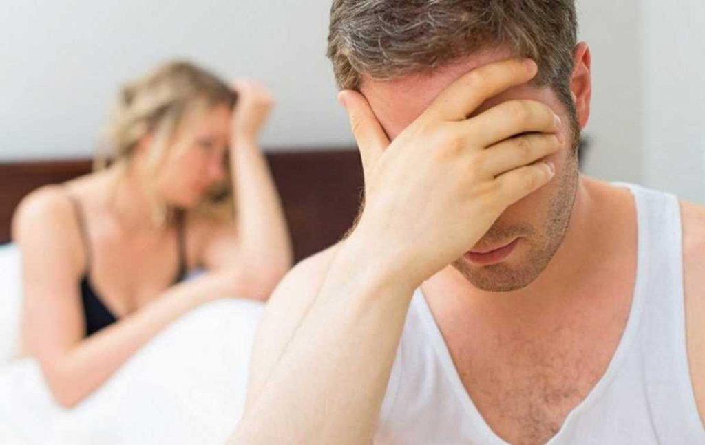 Il 10% degli uomini over 40 può avere uno o più episodi di disturbo erettile.