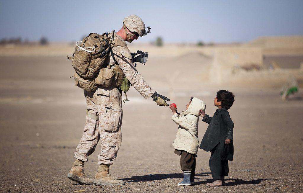 Essere stati in guerra è uno tra i maggiori fattori di rischio di soffrire di disturbo post-traumatico da stress